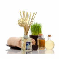 Aromatherapy Rattan ball Reed Diffuser 150ml - Glass bottle