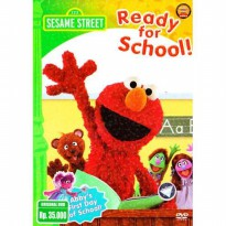 [DVD] Sesame Street : Ready For School [License Indonesia]
