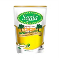 SANIA Premium Cooking Oil Pouch 2L