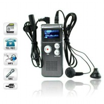 USB Digital Voice Recorder 8GB + Mp3 Player