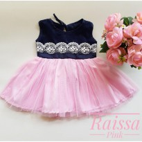DRESS BABY / BAJU PESTA BAYI ZAMAN NOW 0-18 BULAN - 370218