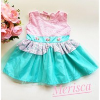 DRESS BABY / BAJU PESTA BAYI ZAMAN NOW 0-18 BULAN - 370318