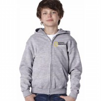 Zipper Hoodie Anak National Geographic Channel - Abu-abu