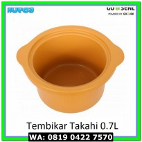 (Food Processor) Tembikar / Pot Takahi Slow Cooker 0.7L