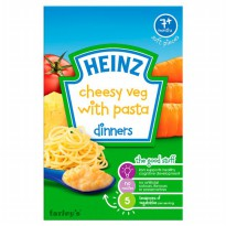 Heinz Cereal Cheesy Vegetable with Pasta