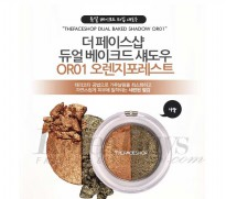 The Face Shop Dual Baked Shadow #OR01 - Orange Forest