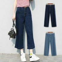 BEST Penelope Denim Pants (#6036)/Celana panjang/Celana Jeans denim