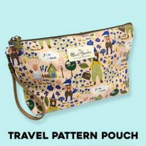 M.U.R.A.H (#MSL008)/Travel Pattern Pouch/Tas kosmetik/Tas travel/Tas makeup