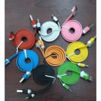 Kabel data warna warni for Iphone 4