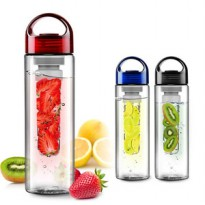 Tritan Water Bottle With Fruit Infuser Air Buah