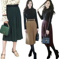 [Sale] Celine Pleated Skirt(#692)/Rok Midi/Rok kerja