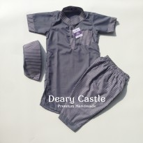Deary Castle Gamis Koko Colorful Grey