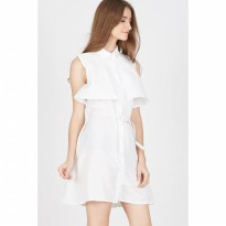 Francois Russel Dress in White