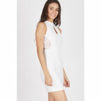 Francois Stenau Dress in White