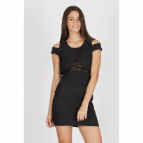 Francois Staufen Dress in Black