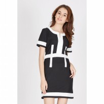 Francois Sontra Dress in Black