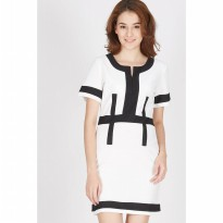 Francois Sontra Dress in White
