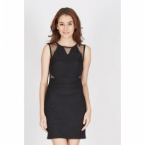 Francois Spalt Dress in Black