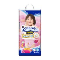 MamyPoko Pants Extra Soft Size L-28 Pcs 9-14 kg (Girl)