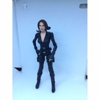 Black widow avenger marvel select Custom