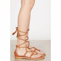 [BERRYBENKA] Ethel Sandals BROWN