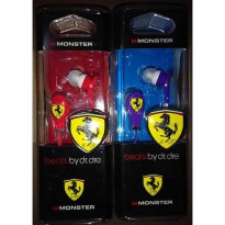 Earphone Headsfree Monster Beats By Dr. Dre Ferrari