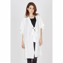 Hecan White Long Outer