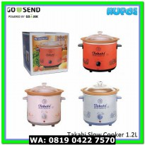 (Food Processor) Takahi Slow Cooker 1.2L / 1.2 L aka Crockery tempat