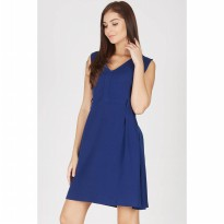 Ganic Navy Dress
