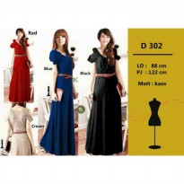 LONG DRESS ANGGUN 4 WARNA