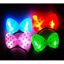 Bando Pita Nyala Pesta Party Lampu LED Unik