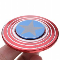 Fidget Spinner Captain America Shield Premium Quality