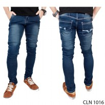 Men Denim Pants Jeans Biru – CLN 1016