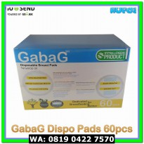 (Kesehatan Bayi) (isi 60) GabaG Disposable Breastpads / Breast Pads /