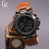 Jam Tangan Wanita / Cewek Gc Marisa leather Light Brown
