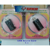 Sound Card Audio USB 7.1 Channel