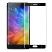 HMC Xiaomi Mi Note 2 - 3D Curved Full Cover Tempered Glass - Lis Hitam