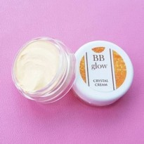 BB GLOW CRYSTAL CREAM MAKE UP MAKEUP KRIM WAJAH BEST SELLER