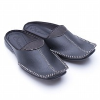 Dr. Kevin Sandals Leather 9606 Hitam