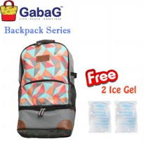GabaG Cooler Bag Backpack Series Radja Bima - Free 2 Ice Gel