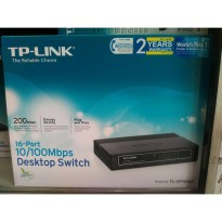 TP-LINK TL-SF1016D 16 PORT DESKTOP SWITCH