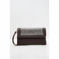 [BERRYBENKA ] Gina Clutch-Brown