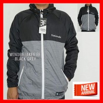 Jaket Parasut Pria Windbreaker Anti Angin Original Distro