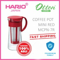 Hario Mizudashi Coffee Pot Mini Red MCPN-7