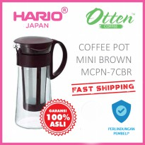 Hario Mizudashi Coffee Pot Mini Brown MCPN-7CBR
