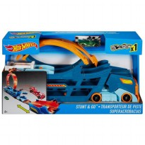 Hot Wheels Stunt n' Go Transporter and Track