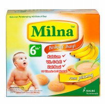 Milna Biscuit AA+DHA Pisang 6+ 130gr