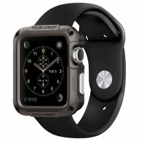 Spigen Tough Armor Case for Apple Watch 42MM - Gunmetal