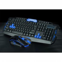 HK-8100 Keyboard Mouse Wireless 2.4Ghz Gaming