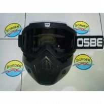 Goggle Mask Osbe Smoke